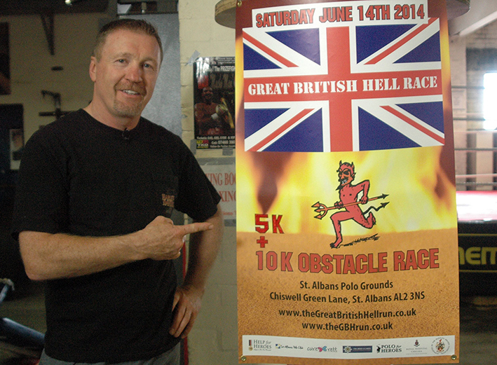 STEVE COLLINS LAUNCHES NEW EXTREME SPORTING EVENT - Sport & Note